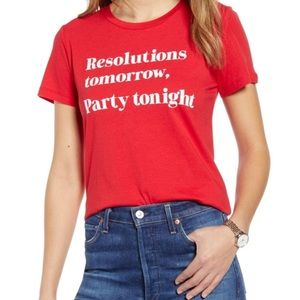 Tops - Party Tonight Statement Tee Shirt